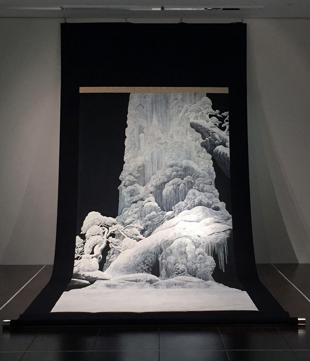 田中武|大氷瀑布図