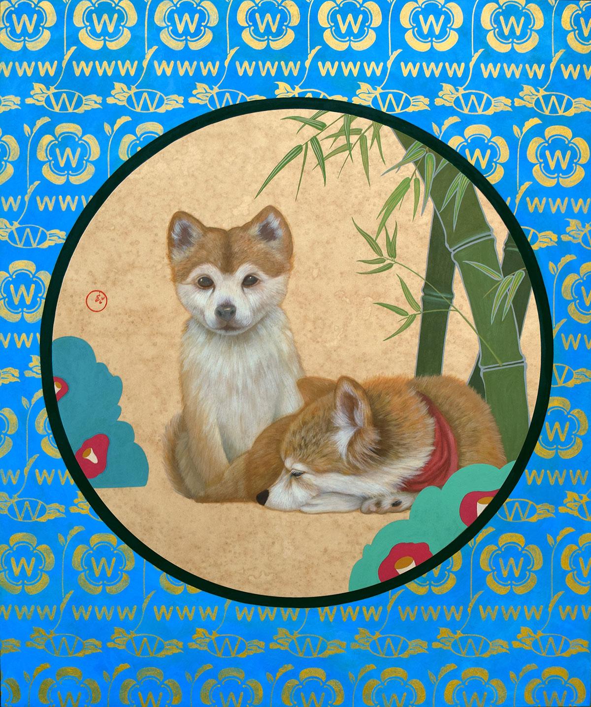 田中武 | 竹+犬=